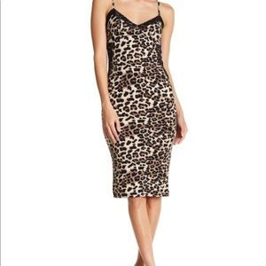 Dresses & Skirts - Leopard Print Going-Out Dress